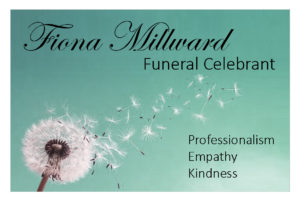 Fiona Millward Business Card